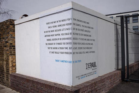 This Street Corner Campaign Shows Two Sides To Homelessness | Homelessness | Scoop.it