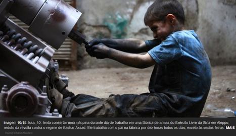 Criança de dez anos trabalha com o pai na produção de armas químicas na Síria | Geral | Scoop.it