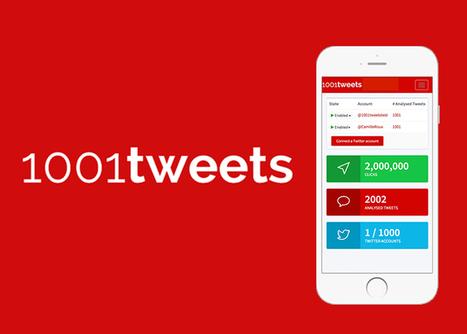 [outils] Augmenter la visibilité du contenu partagé sur Twitter avec 1001tweets | Social Media Curation par Mon Habitat Web | Scoop.it