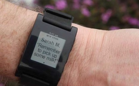 Look at Your Phone For Messages? Nope, Look at Your Pebble Smartwatch | New Technology | Scoop.it