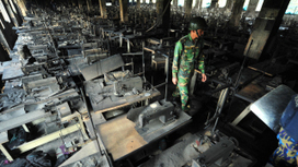 These are the clothing labels left behind in the Bangladesh factory fire that killed 112 workers | Seguridad industrial | Scoop.it