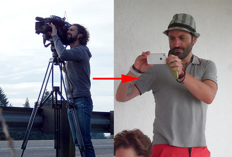 Swiss TV Station Replaces Cameras with iPhones and Selfie Sticks | xposing world of Photography & Design | Scoop.it