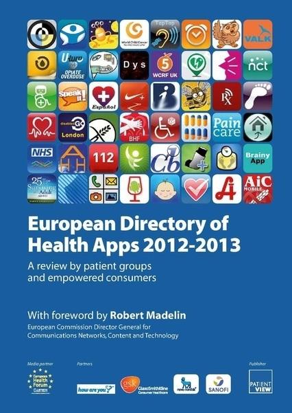 El Directorio Europeo de aplicaciones para la Salud este miercoles 3 de octubre 2012 | eSalud Social Media | Scoop.it
