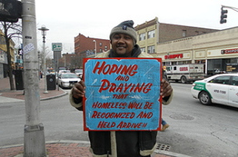 Artists Make Hand-Painted Signs For Homeless People, With ... | Plight of The Homeless | Scoop.it