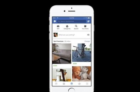 Facebook lance Marketplace pour concurrencer Le Bon Coin et eBay | Pôle Régional Numérique | Scoop.it