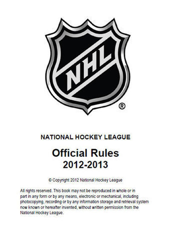 Official NHL Rules | Saving lives through OHS | Scoop.it
