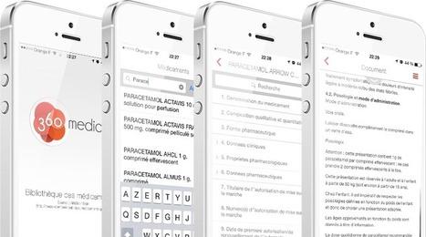 Une application gratuite sur les médicaments pour les professionnels de santé   Sante-Digitale.fr   News IT Sante   Scoop.it