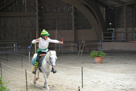 Jouy-le-Châtel Tir à l'arc à cheval, une discipline de dextérité | Cheval et sport | Scoop.it