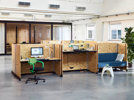 Functional, Raw, and Industrial Desk Systems - Design Milk | CLOVER ENTERPRISES ''THE ENTERTAINMENT OF CHOICE'' | Scoop.it
