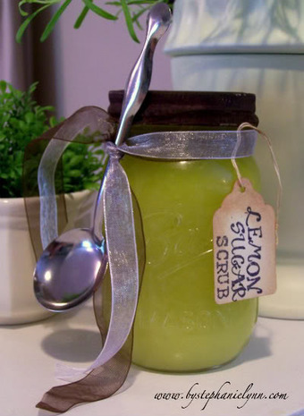 Under The Table and Dreaming: Lemon Sugar Hand Scrub | Environment & Ecology | Scoop.it