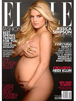 Jessica Simpson Goes Nude (and Confirms It's a Girl) - People Magazine | Nude | Scoop.it