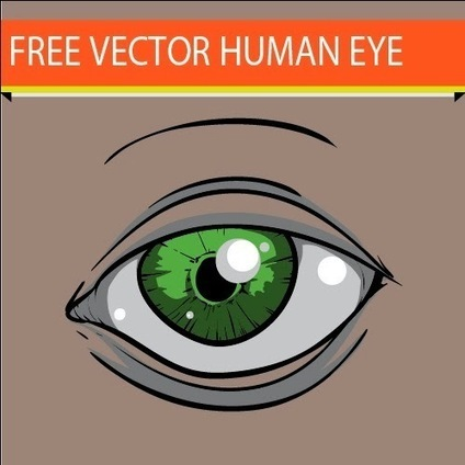 Center of Content : Free Human Eye Vector   Media Hill's   Scoop.it