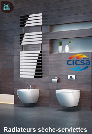 Radiateurs sèche-serviettes CICSA | Design de la salle bain | Scoop.it