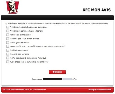 KFC, un exemple à suivre pour encourager vos clients à donner leur avis | Expérience Client & Parcours Client | Scoop.it