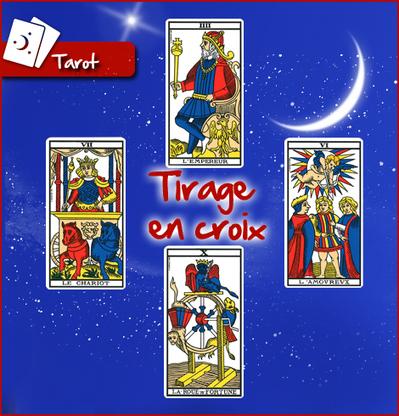 Tarot de Marseille, le tirage en croix | Tarot divinatoire | Scoop.it