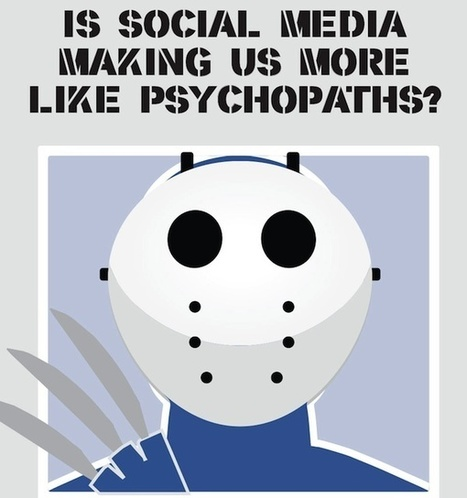 Is Social Media Making Us More Like Psychopaths? [INFOGRAPH]   Everything connects to marketing: thought leadership in a marketing world   Scoop.it