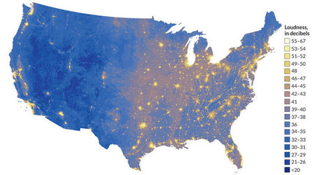 A coast-to-coast picture of America's cacophony of sounds | FCHS AP HUMAN GEOGRAPHY | Scoop.it