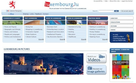 Europe-Luxembourg / Internet Portal | Luxembourg (Europe) | Scoop.it