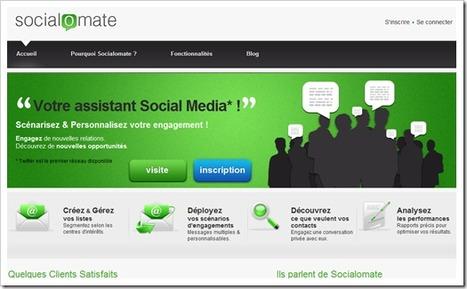 Socialomate : Votre assistant de Réseau Social «Révolution Web 2.0 en Live ! | Socialomate : un assistant de mise en relation sur Twitter | Scoop.it
