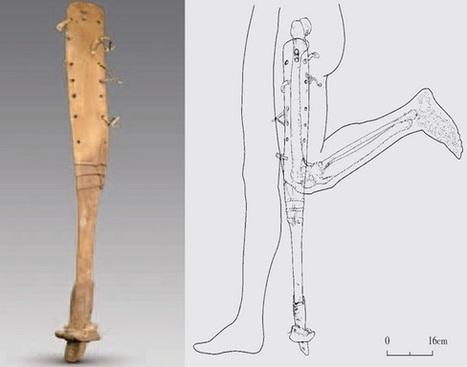 Prosthetic leg found in Chinese tomb | Centro de Estudios Artísticos Elba | Scoop.it