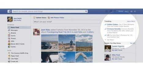 Les sujets d'actualité les plus populaires arrivent sur Facebook | Animer une communauté Facebook | Scoop.it