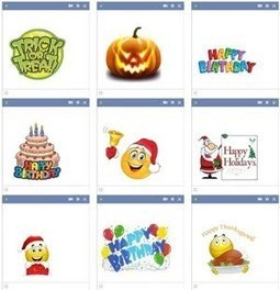 Holidays Emoticons | Danette Lundy | Scoop.it