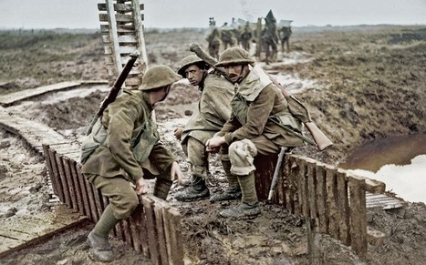 Unseen interviews with WW1 veterans recount the horror of the trenches | First World War History | Scoop.it