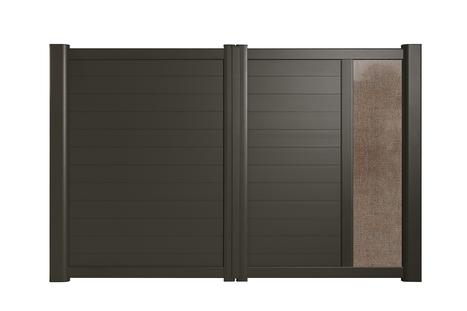 Padus, le premier portail Cadiou avec décor en lin bio-sourcé | COM4 | Scoop.it