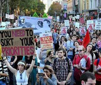 [Australia] Outraged students protest against budget impacts | Higher Education and academic research | Scoop.it