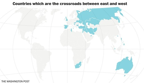Map: Where the East and the West meet | AP Human Geography @ Hermitage High School - Ms. Anthony | Scoop.it