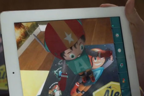 Eerste kinderboek met augmented reality is uit | ICT kleuterklas | Scoop.it