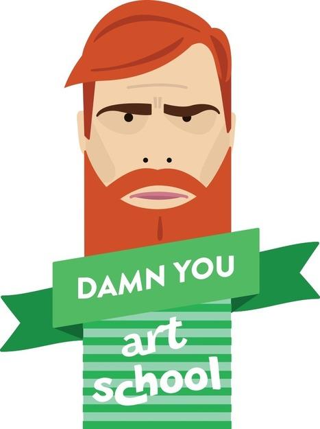 Damn You Art School | Design, Digital & Research | Scoop.it