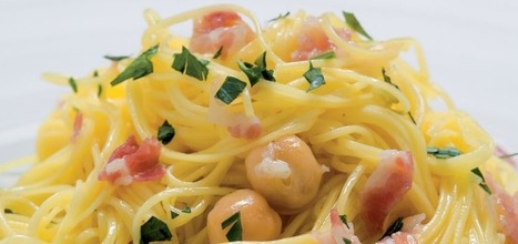 Campofilone Maccheroncini pasta with chickpeas | Le Marche and Food | Scoop.it