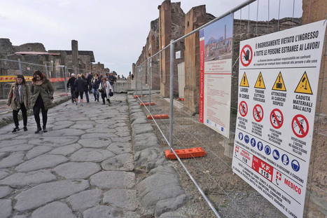 Tourists are finishing what the volcano started in Pompeii   Ancient History   Scoop.it