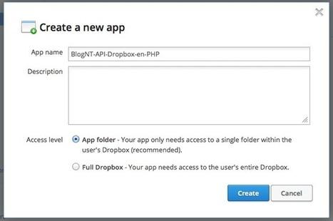 Utilisons PHP pour accéder à notre Dropbox   Time to Learn   Scoop.it