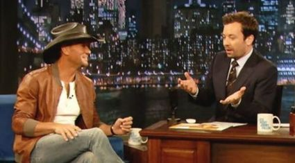 Tim McGraw goes inside with Fallon... | Country Music Today | Scoop.it