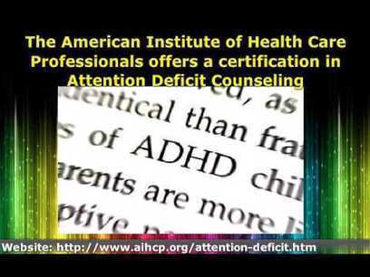 ADHD Counseling Certification Program