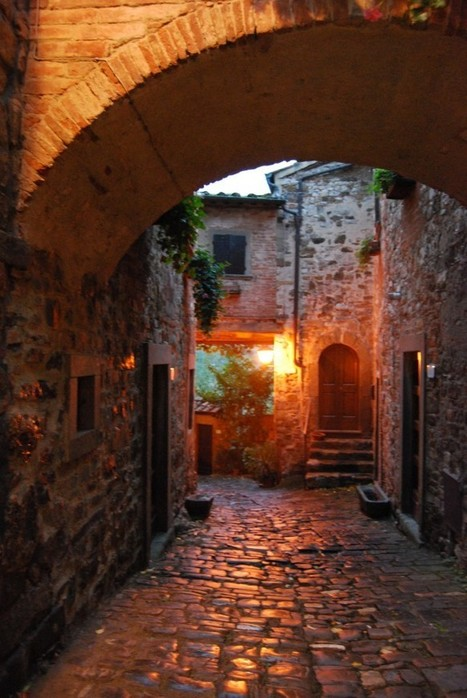 Montefioralle, surely one of the most beautiful villages of Italy | Italia Mia | Scoop.it