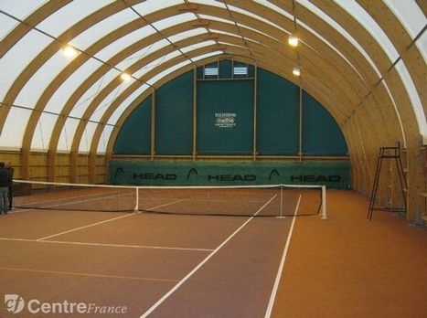 Decize : Un cours de tennis couvert et la réhabilitation de la mairie : deux chantiers d'envergure | Revue de presse du CAUE de la Nièvre | Scoop.it