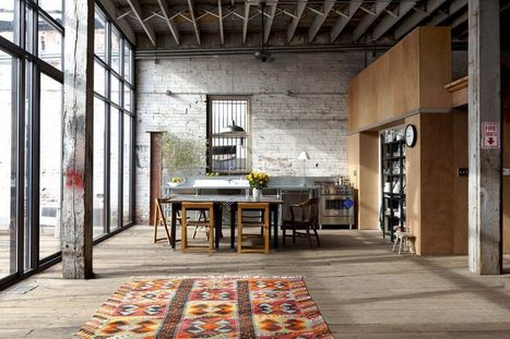 From warehouse to their house | Raw and Real Interior Design | Scoop.it
