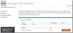 SQL Server 2012 BI + SharePoint 2010 VM | All About SharePoint | Scoop.it