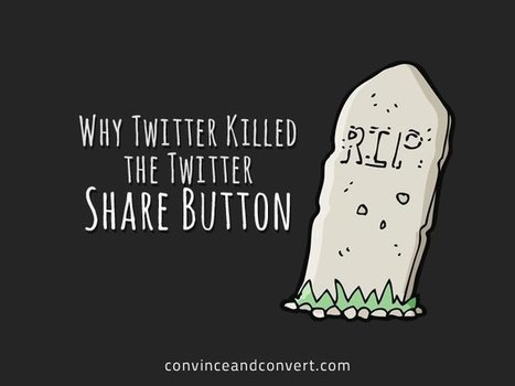 Why Twitter Killed the Twitter Share Button | Surviving Social Chaos | Scoop.it