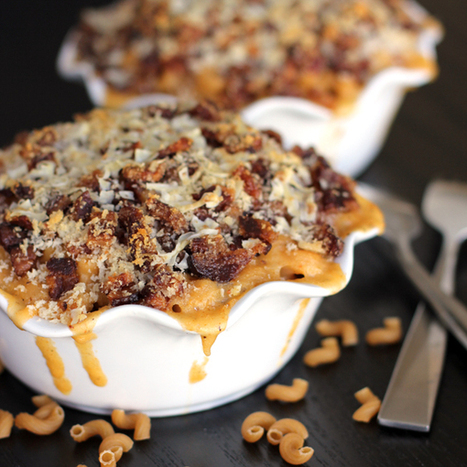 bacon crusted beer mac and cheese #SundaySupper | #SundaySupper | Scoop.it
