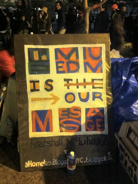 Dan Patterson - Update: #OccupyWallStreet in the Rain | | An Eye on New Media | Scoop.it
