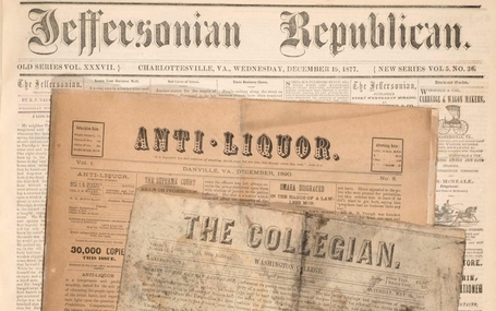 Anti-Liquor, College, and Charlottesville papers donated to LVA | Fit To Print | Tennessee Libraries | Scoop.it