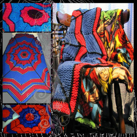 Spidey Senses - from Grammy's Heart, with Love | FREE Crochet Patterns | Scoop.it
