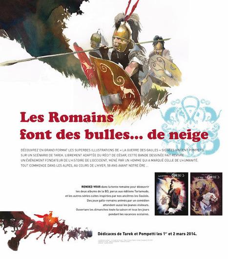La guerre des Gaules: Exposition à Serre-Chevalier du 15/01 au 01/04 | Tous les événements à ne pas manquer ! | Scoop.it