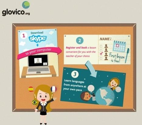 glovico – Aprende y enseña idiomas usando Skype   Digital and Education Tools   Scoop.it