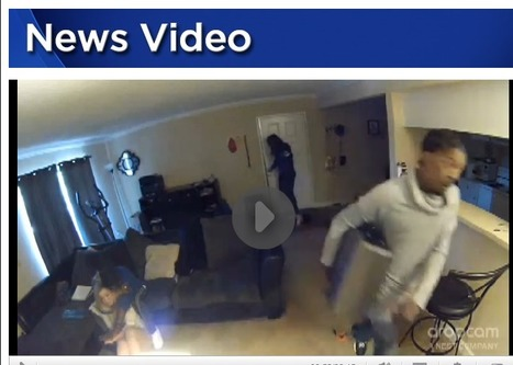 GRAPHIC: Security camera captures woman's terrifying attack during home invasion   Criminal Justice in America   Scoop.it