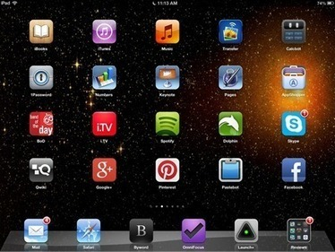 Weekend iPad Wallpaper: Constellations   iPads, MakerEd and More  in Education   Scoop.it